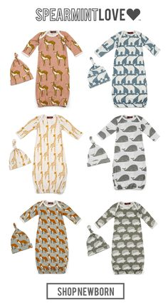 Organic cotton, super soft fabrics, adorable prints what more could you want? All that AND free shipping.