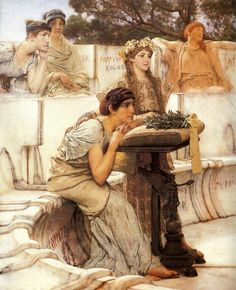 Saffo+-+Alma+Tadema