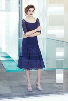 Moss & Spy Lace dress. 2015 SS Collection