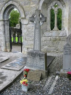 My dark Irish soul loves the cemeteries in Ireland. The celtic crosses are so beautiful and the poems are so haunting.
