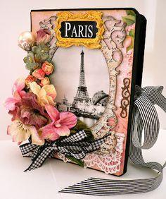 Esta es una de cosas que despiertan mi lado mas creativo y no es porque aparezca la mayor de mis fuentes de inspiración (Torre Eiffel), sino porque todo sale de las manos...