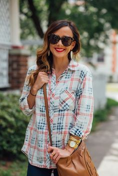 PATRIOTIC PLAID