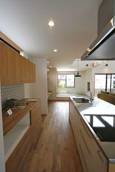 _MG_2809 Kitchen Interior, Kitchen Design, Kitchen Dinning, Japanese Interior, Japanese House, Beautiful Kitchens, Kitchen Storage, Interior Inspiration, Home Kitchens