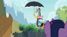 Mary Poppins reference on My Little Pony