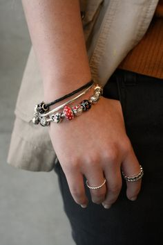 Bracelet stacks are the best. Disney bracelet stacking is even better.