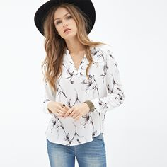 92849bced08 ... Women s Shirts Lily Digital Printing Casual Loose Nine Quarter Sleeve V  Neck Loose Blouses D628 from Reliable shirt ladies suppliers on Shop813724  Store