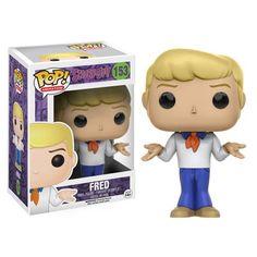 Scooby-Doo Fred Pop! Vinyl Figure - Funko - Scooby-Doo - Pop! Vinyl Figures at Entertainment Earth