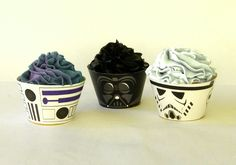 Fox Tail Printables - Star Wars Inspired Cupcake Wrappers, $5.00 (http://www.foxtailprintables.com/star-wars-inspired-cupcake-wrappers/)