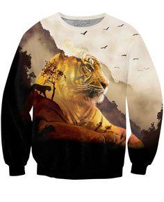 Tiger Valley Crewneck Sweatshirt