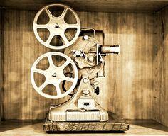 Vintage Reel to Reel Movie Projector