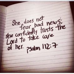 Psalm 112 in the Bible quotes ❤️ bible verses The Words, Adonai Elohim, Quotes To Live By, Me Quotes, Love Quotes Bible, Fear Quotes Bible, Bible Quotes For Women, Heart Quotes, Faith Quotes