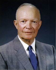 Dwight D. Eisenhower 34th president of the U.S. 1953-61...the president when I was born