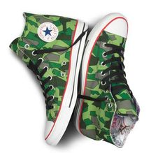 Gorillaz x Converse Sneakers Use Jamie Hewlett for Exciting Designs trendhunter.com