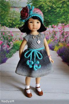 Маленькая восточная красавица Джин от Dianna Effner / Коллекционные куклы (винил) / Шопик. Продать купить куклу / Бэйбики. Куклы фото. Одежда для кукол