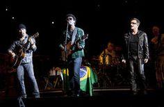 U2..... My FAVORITE band!