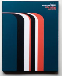 Beyond/In Western New York 2010: Alternating Currents exhibition catalog / Published by the Albright-Knox Art Gallery / 2010 / 10.75 x 8.5 inches / front cover