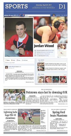 Boyertown freshman Jordan Wood is Wrestler of the Year.