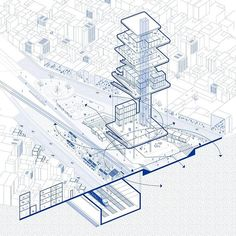 Informations About Urban analysis axon Architecture Concept Drawings, Architecture Background, Pavilion Architecture, Architecture Panel, Architecture Visualization, Architecture Graphics, Architecture Diagrams, Site Analysis Architecture, Architecture Portfolio