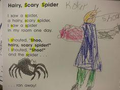 Growing Kinders: spiders