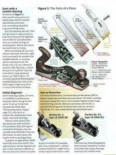 Hand Plane Rehab - Hand Tools Tips and Techniques - Woodwork, Woodworking, Woodworking Plans, Woodworking Projects Essential Woodworking Tools, Antique Woodworking Tools, Used Woodworking Tools, Old Tools, Woodworking Workbench, Woodworking Techniques, Woodshop Tools, Antique Tools, Popular Woodworking