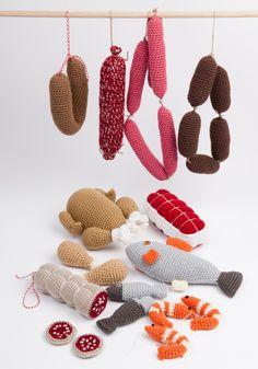 Crochet The Meat Market