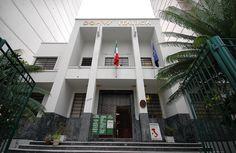 Casa D'Itália - JF. Autoria de Raffaele Arcuri fundada na década de 1930.