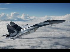 Sukhoi - Su-35S Flanker-E Stealth Fighter [480p] - YouTube