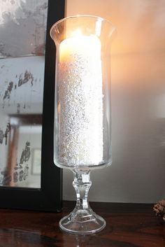 Glitter Candles by Decor Adventures