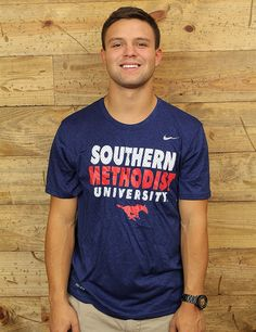 Show your Southern Methodist University spirit in this Nike tee