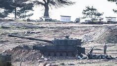 Турция нанесла удар позициям курдов на севере Сирии