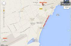 Playa Den Bossa, Ibiza, Maps, Villa, Rooms, Street, Link, Google, Shop
