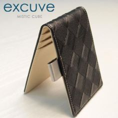 excuve  Chess Personalized Money Clip Billfold Wallet G14 Black-Free Engraving