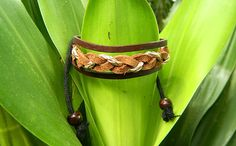 Fashion simple Leather Adjustable Bracelet leather by goodlucky, $4.99