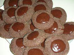 Biscotti alla crema e cioccolato