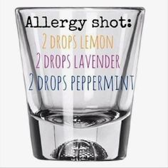 Add 2 drops of each doterra essential oil, add water, take a shot. I refill the glass with water and drink again to make sure all the oils are ingested. Take times a day. Essential Oils Allergies, Essential Oil Diffuser Blends, Doterra Oils, Doterra Essential Oils, Doterra For Allergies, Uses For Essential Oils, Bug Bite Essential Oil, Young Living Essential Oils Recipes Cold, Essential Oil For Bruising