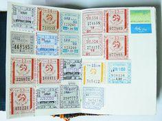 Bus Tickets | Season of Adventure | Inspiration