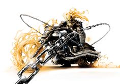 Ghost Rider by Ricardo Fasoli