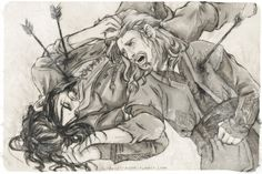 The Battle of Five Armies by ~crystalmoonchild on deviantART... I shall cry my heart out when this happens. I little part of me shall die and I will never be the same.