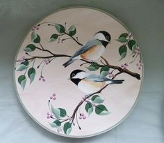 Lazy Susan hand painted