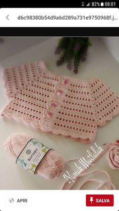 Best 12 IG ~ ~ crochet yoke for Irish lace, crochet, crochet p This post was discovered by Ел New model, new color, new fabric – SkillOfKing. Gilet Crochet, Crochet Yoke, Crochet Vest Pattern, Baby Knitting Patterns, Crochet Patterns, Crochet Toddler, Baby Girl Crochet, Crochet Baby Clothes, Crochet For Kids