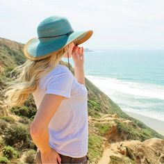 Stylish yet very sun protective women's hat with its wide brim at UPF 50. Our St. Lucia hat comes with an adjustable chin strap that is functional and stylish.