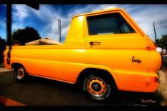 A customized A-100 pickup. #Dodge not a big fan oh the color but oh well