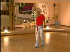 Техника Латиноамериканского танца 2 - YouTube