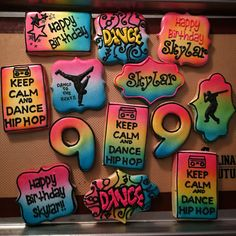 Hip hop dance birthday. Sweetly Done by Candi