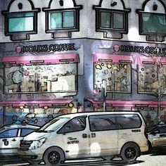ソウルのカフェ