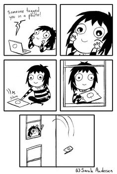 Sarah's Scribbles :: Someone Tagged You in a Photo | Tapastic Comics - image 1