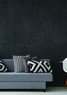 Concreate Titanium Black Wall Panel - Royal Oak Floors