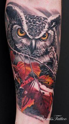 Owl Tattoo Who are U