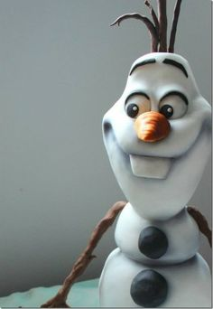 Disney's Frozen Olaf Cake Tons of party ideas @ www.partyz.co