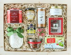 Every Christmas, I make it a point to look through Harrod's online catalog of Christmas hampers. Getting a glimpse of those gorgeous gifts always puts me in the Christmas spirit. Inspired by those collections, I've put together some ideas for homemade tea gift boxes, otherwise known as Tea Parties in a Box. Inside each package are some of the tea products I've discovered, tried, and love. All you need is a large box and some wood or paper shred, and the canvas is set. Let the tea ...